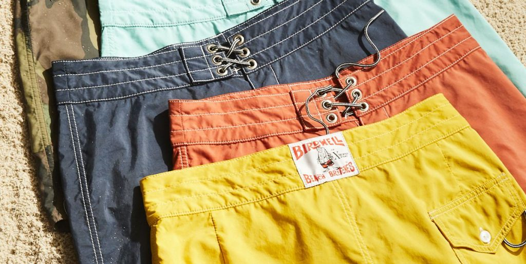 Todd Snyder Birdwell Bord Shorts